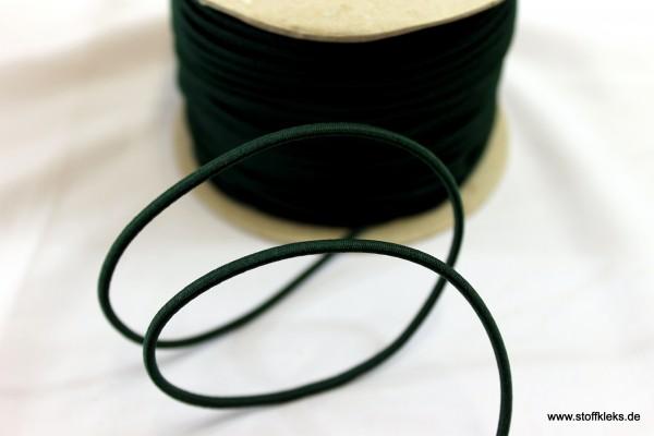 Gummikordel 3mm | tannengrün | 10m