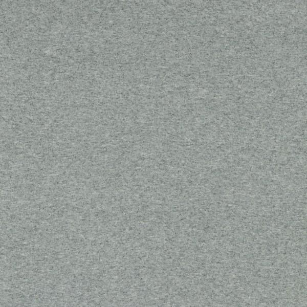 Bündchen | Baumwolle | uni | hellgrau melange
