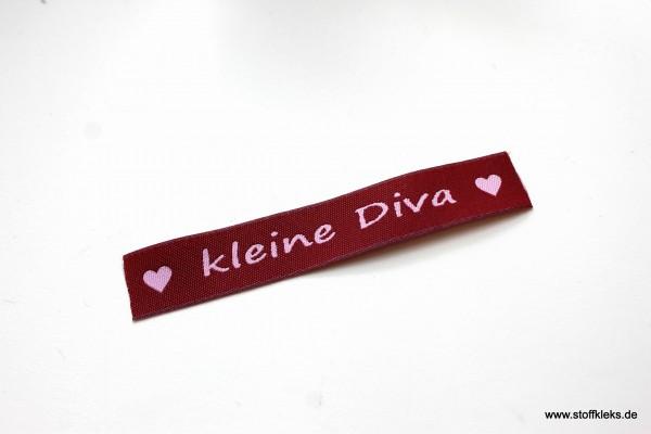 Applikation   Label   kleine Diva   Beere mit rosa   1,5 cm