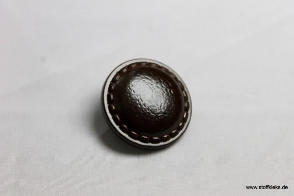 Knopf | Kunststoff | old but good | Öse | 2,4 cm