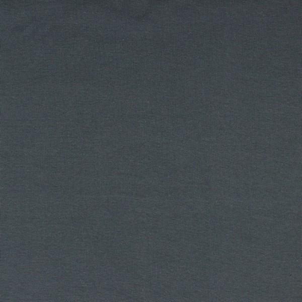 Bündchen   Baumwolle   Uni   dunkelgrau