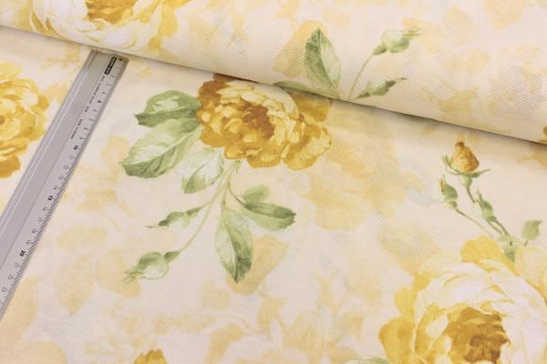 Canvas   bedruckt   Rosen   gelb