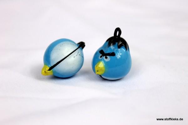 Glöckchen | böser Vogel | blau