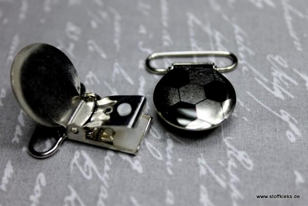 Applikation & Co | Metallclips | Rund | Fußball