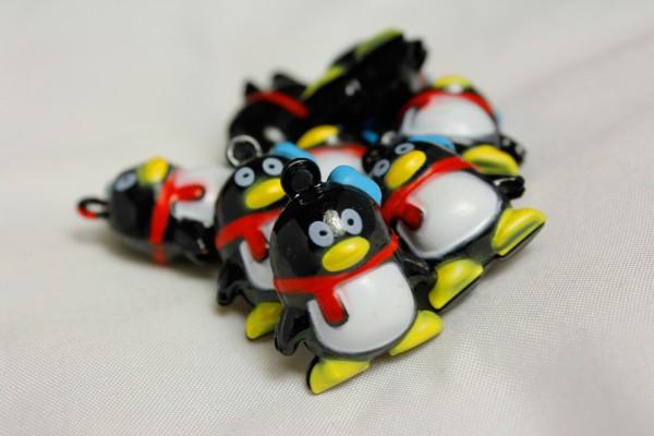 Glöckchen | Pinguin mit Schal