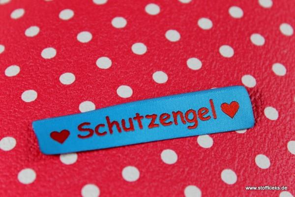 Applikation | Label | Schutzengel | blau