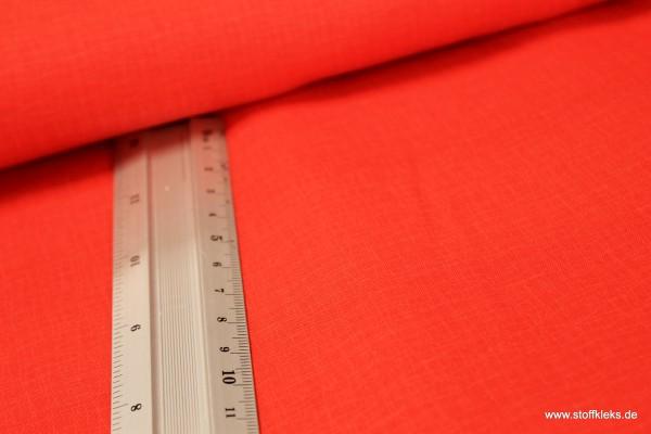 Baumwolle | bedruckt | Kräusel | rot