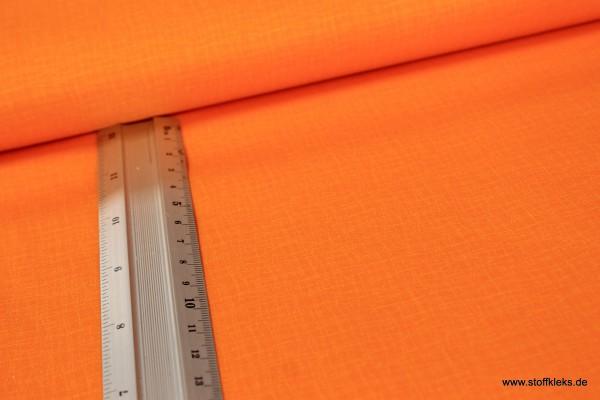 Baumwolle | bedruckt | Kräusel | orange