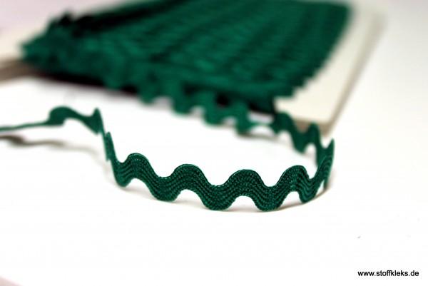 Zackenlitze   Uni   5mm   dunkelgrün