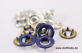 Jerseydrucker | 20 Stück | Ringe | blau