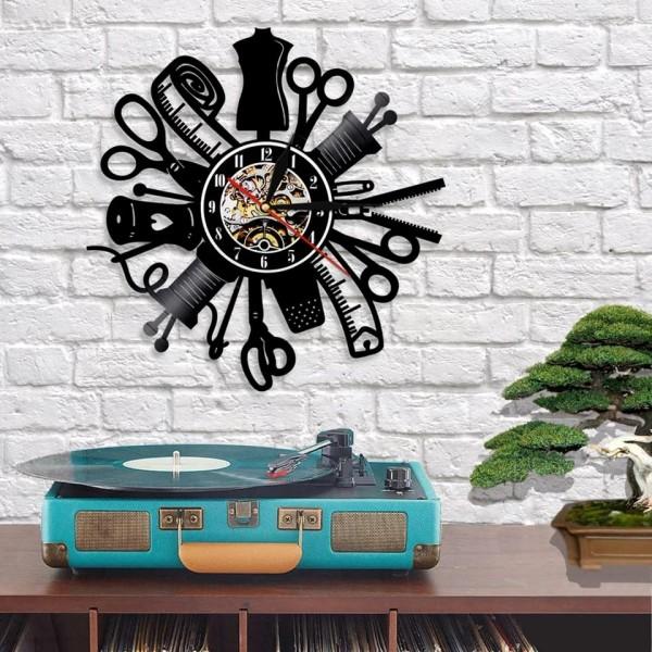 Wanduhr | Retro Vinyl | 30cm