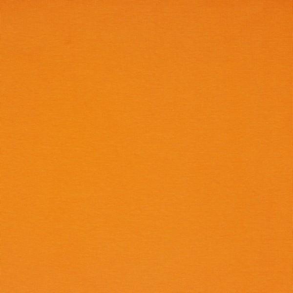 Bündchen   Baumwolle   Uni   hell orange