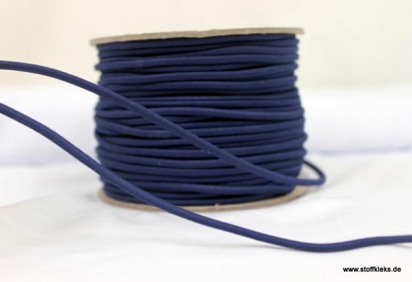 Gummikordel 3mm| dunkelblau
