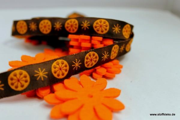 Webband | CandyBird | braun/orange