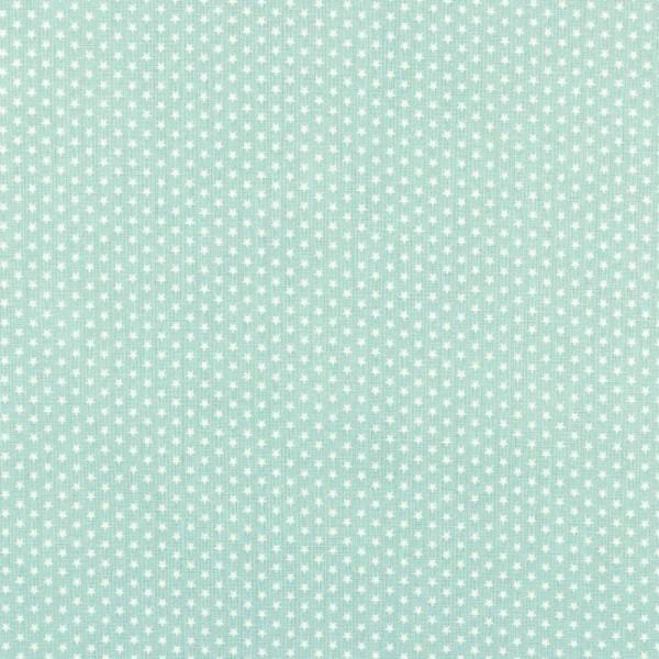 Baumwolle | bedruckt | 4mm little stars | mint