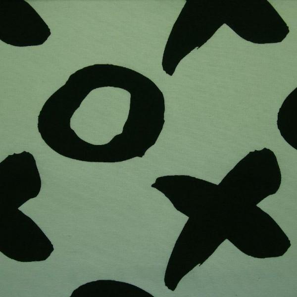 Canvas | bedruckt | XOXO | mint