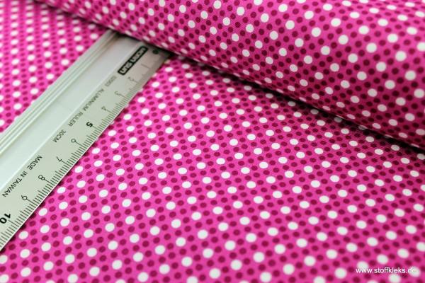 Baumwolle   bedruckt   Michael Miller Fabrics   Patt #CX6322   Dim Dots   lila