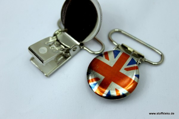 Applikation & Co | Metallclips | Rund | very british