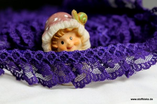 Rüschenband | 20 mm | lila