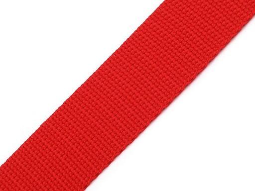 Gurtband | 25mm | rot