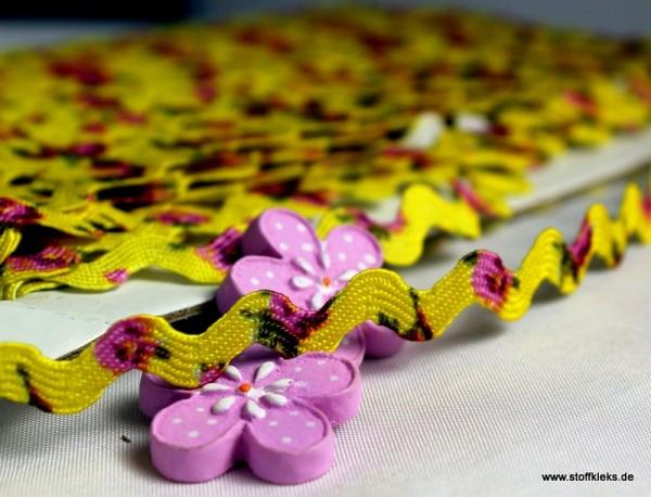 Zackenlitze | Flower | gelb