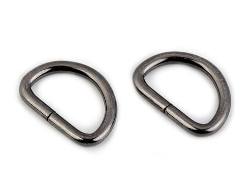 D-Ring | 25 mm | antiksilber