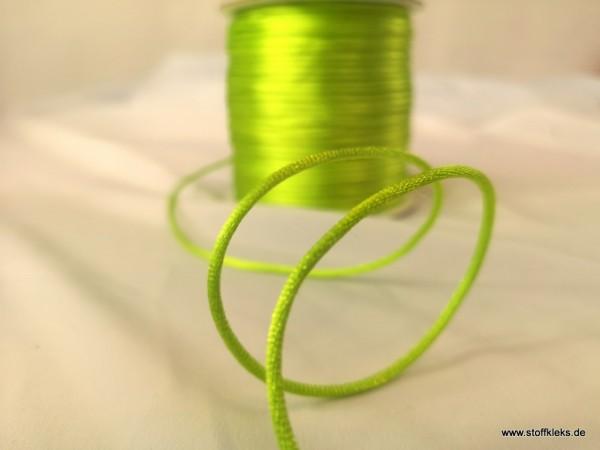 Satinband | Satinkordel | 2mm | neongelb