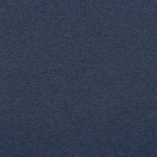 Jersey | Uni | melange dunkelblau