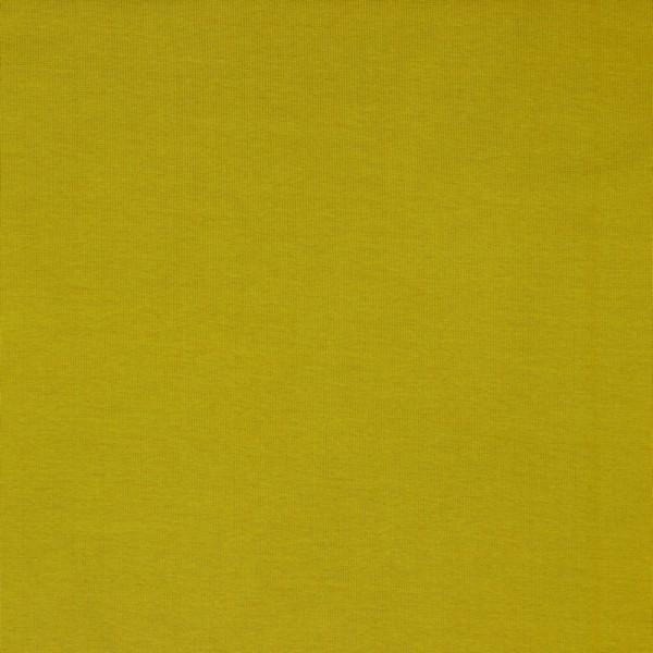 Bündchen | Baumwolle | Uni | olive hell