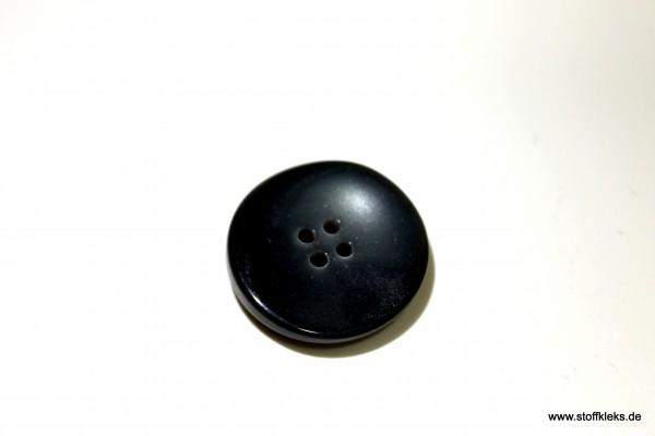 Knopf | Kunststoff | Shining grey | 2,7 cm