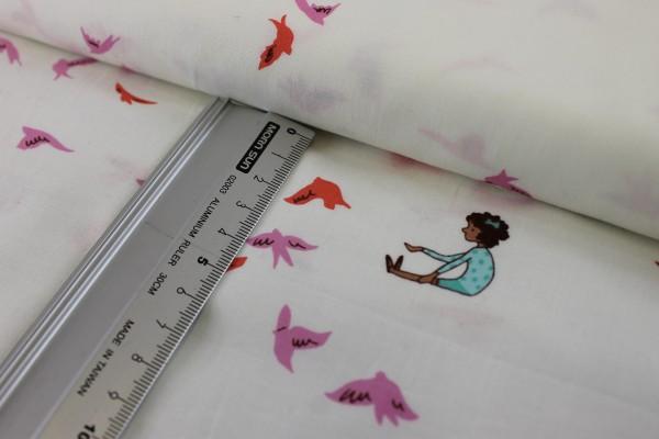 Baumwolle | bedruckt | Michael Miller Fabrics | Patt #DC 6228 | sarah jane | With the birds