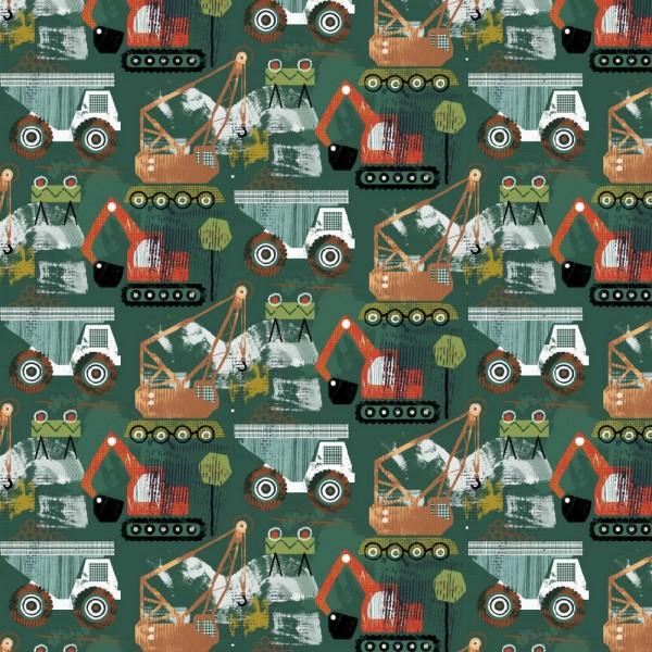 Jersey | bedruckt | DIGITAL | heavy loader | grün