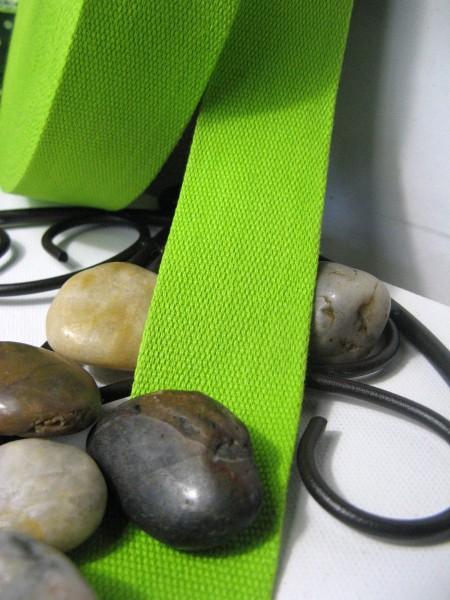 Gurtband | Baumwolle | 4cm | hellgrün