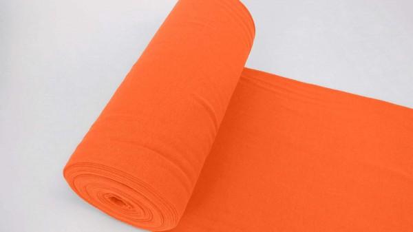 Bündchen | Baumwolle | Uni | NEON orange