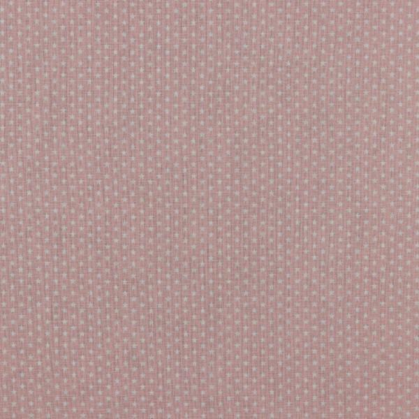 Baumwolle | bedruckt | 4mm little stars | alt rosa