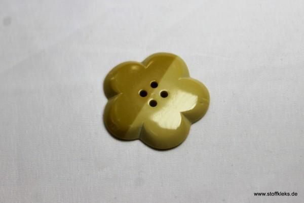 Knopf | Latte macchiato Blume | 3 cm
