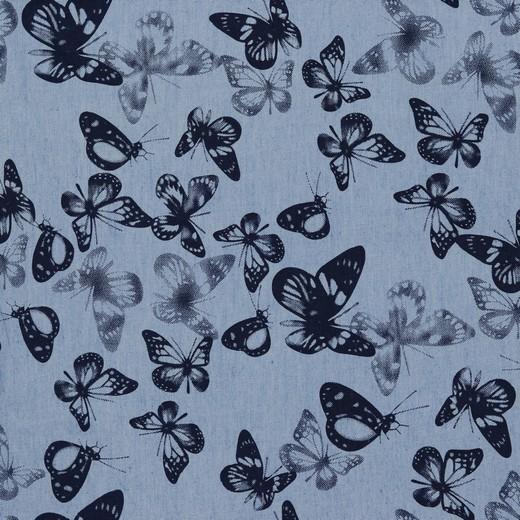 Sommer - Jeans | Schmetterlinge