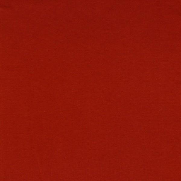 Bündchen | Baumwolle | Uni | dunkel rost