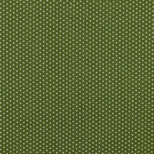 Baumwolle | bedruckt | 4mm little stars | dunkelgrün