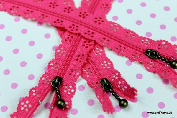 Reißverschluss | Nr. 19 | pink