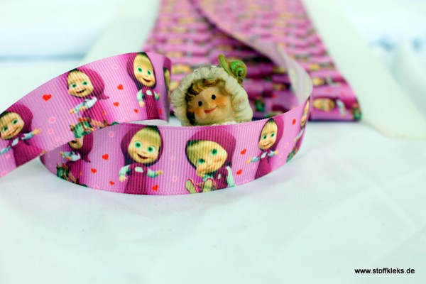 Ripsband | little girl | beere