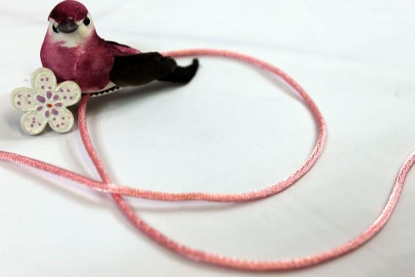 3m Satinband   Satinkordel   2mm   rosa