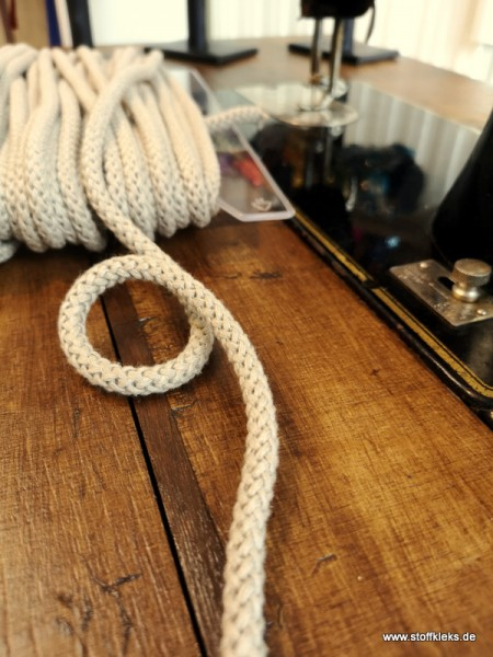 Baumwollkordel | 8mm | beige