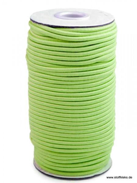 Gummikordel 3mm | maigrün | 10m