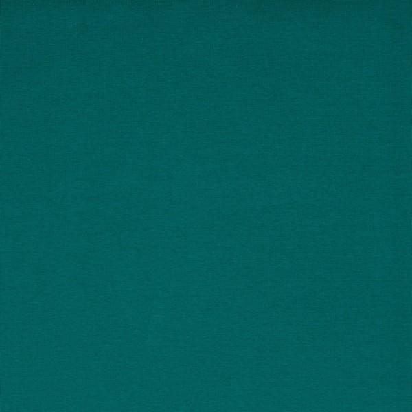 Bündchen   Baumwolle   Uni   dunkel petrol