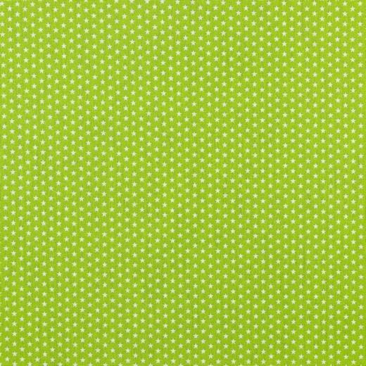 Baumwolle | bedruckt | 4mm little stars | lime