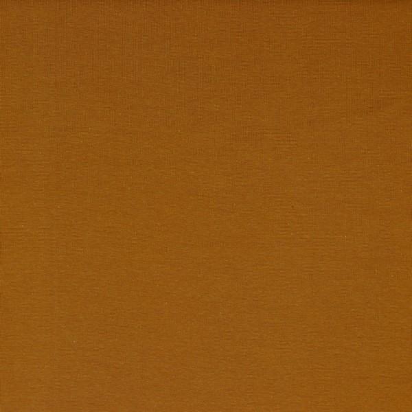Bündchen   Baumwolle   Uni   cognac