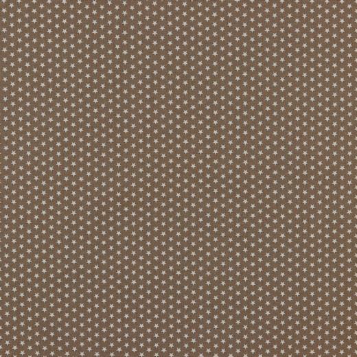 Baumwolle | bedruckt | 4mm little stars | taupe
