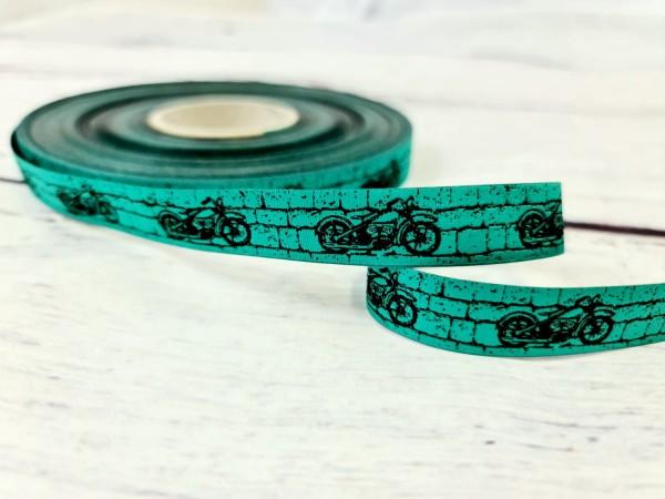 Webband | Biker | 17 mm | grün