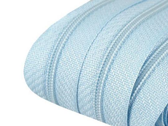 Reißverschluss | endlos | Spirale 3mm | hellblau